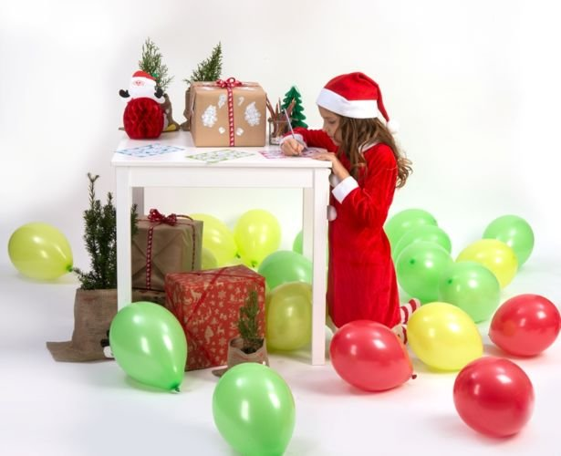 Czapka Mikołaja Lux Pluszowa święta Mikołaj
