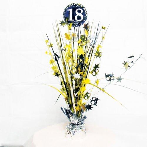 Dekoracja Na Stół 18 Urodziny Złota