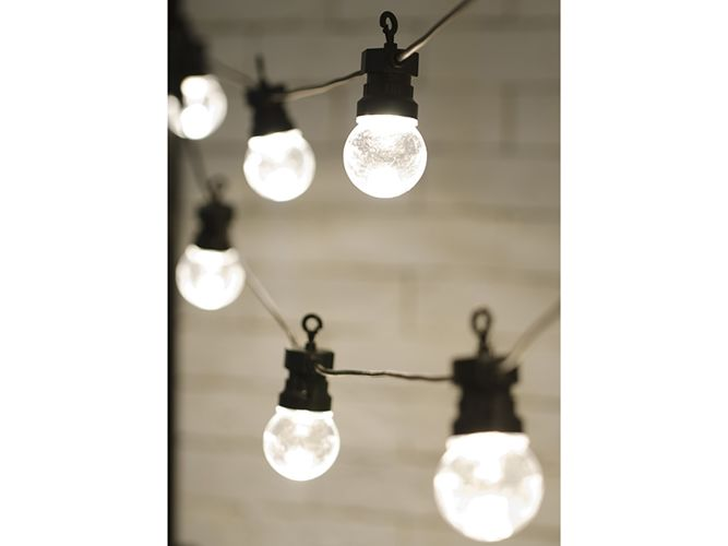 Lampki Dekoracyjne Led Bezbarwne 5m