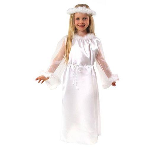 741a2e5e2d Strój Aniołek dla dzieci 122 128 sukienka