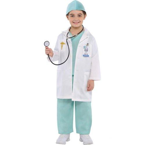 Strój Dla Dzieci Lekarz 4 6 Lat Sklep Partybudzikipl