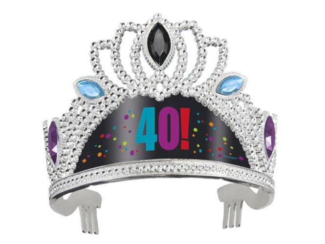 Tiara Plastikowa Na 40 Urodziny Sklep Partybudzikipl