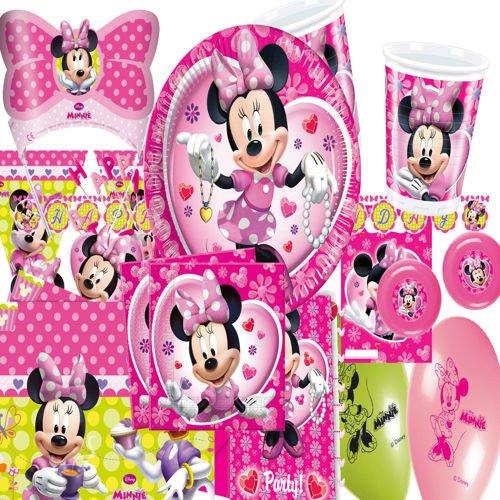 Zaproszenia Myszka Minnie Różowe 6szt Mm2 Sklep Partybudzikipl